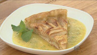 'Prato Feito' ensina coulis de abacaxi com hortelã - Veja a receita preparada por Fernando Kassab, nesta terça-feira (3).