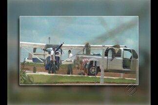 Polícia ainda procura aeronave desparecida em São Félix do Xingu - Segundo a polícia, uma quadrilha internacional de tráfico de drogas pode estar por trás do roubo ao monomotor. Piloto que teria sido dopado pela quadrilha comentou o caso.