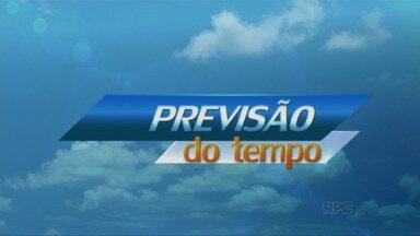 Previsão é de chuva para domingo na região de Guarapuava - Máxima não deve passar dos 27ºC em Guarapuava.