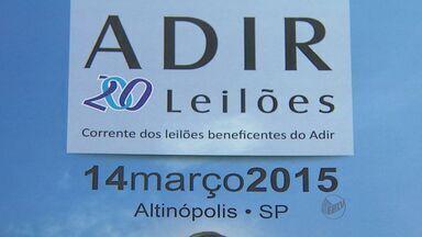 Edição 200 de Leilão União de Forças da APAE acontece em Altinópolis, SP - Evento acontece no Distrito Industrial e entrada é gratuita.