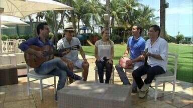 Marcos Lessa é uma das atrações do fim de semana em Fortaleza - Confira os detalhes na agenda do CETV.