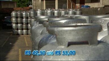 Gás de cozinha pode ficar até 12% mais caro em Pernambuco - Preço do produto pode chegar a R$ 55.