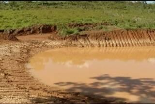 Para conter a água da chuva, prefeitura de Montes Claros aposta na construção de barragens - Medida é usada ainda para preservar o lençol freático.