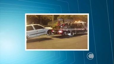 PRF-PI realiza operação multando cerca de 260 veículos na avenida João XXIII - PRF-PI realiza operação multando cerca de 260 veículos na avenida João XXIII