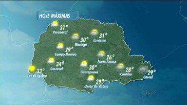 Confira a previsão do tempo para o fim de semana - Ultimo fim de semana do verão tem temperaturas altas, mas pode chover forte.