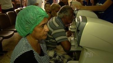 Prefeitura faz mutirão para detectar casos de glaucoma em Goiânia - Evento ocorre neste sábado (14) das 8h às 18h. A expectativa é atender pelo menos 3 mil pessoas que já fizeram o pré-agendamento em três unidades de saúde da capital.
