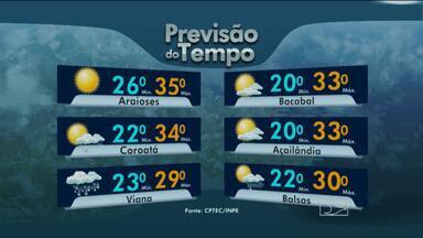 Confira a previsão do tempo para o fim de semana - Sábado com chuva na capital. Veja a previsão completa.