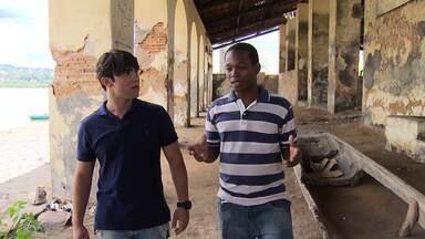 Diogo Baleeiro faz uma visita à Ilha de Cajaíba - Diogo foi a ilha de Cajaíba, como repórter convidado do Mosaico, para mostrar um pouco da história do local.