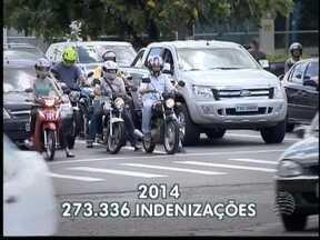 Quantidade de vítimas de acidentes de trânsito que acionam Dpvat é alto - Motocicleta é o principal veículo que gera as colisões mais graves.