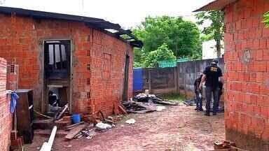 Incêndio em casa em Tangará da Serra (MT) mata dona de casa - Vítima tinha 57 anos e só tinha 5% de visão em um dos olhos
