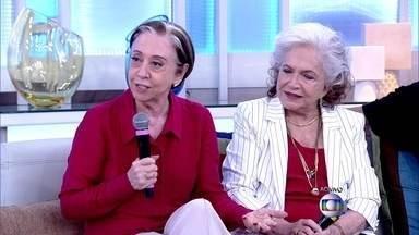 Fernanda Montenegro e Nathalia Timberg falam sobre ambição - Atrizes relembram início da carreira