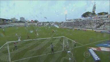 Ponte Preta perde de virada para São Paulo - No domingo (15), no estádio Moisés Lucarelli, a Ponte Preta perdeu para o São Paulo, que virou o jogo com Paulo Miranda e Alan Kardec para vencer por 2 a 1, pela décima rodada do estadual.