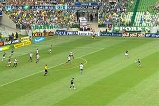 Assista aos gols da 10ª rodada do Campeonato Paulista 2015 - Santos, Palmeiras e São Paulo venceram na rodada; Corinthians não saiu do zero com o RB Brasil.