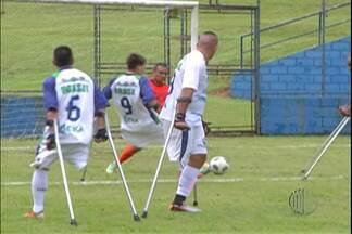 Mogi das Cruzes recebe Seleção Brasileira de Amputados - Seleção se prepara para a disputa da Copa América que será disputada no México.