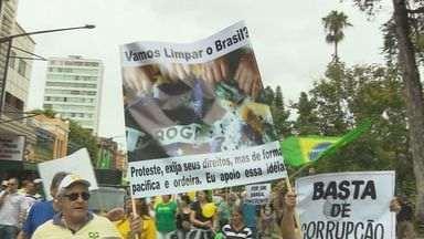 Veja como foram as manifestações no Sul de Minas - Veja como foram as manifestações no Sul de Minas