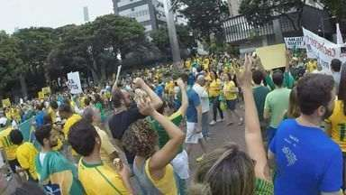 Veja como foi a manifestação em Belo Horizonte - Veja como foi a manifestação em Belo Horizonte