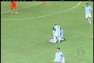 Macaé vence o Fluminense em casa - Veja o gol do Macaé que marcou a partida.