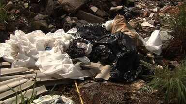 Corpo em decomposição avançada é encontrado dentro de mala em Goiás - Polícia tenta identificar a vítima e ainda não sabe se ela foi esquartejada. Segundo delegado, perícia acredita que morte ocorreu há quatro dias.