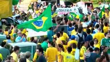 Milhares de pessoas se concentraram para protestar contra a corrupção no Piauí - Milhares de pessoas se concentraram para protestar contra a corrupção no Piauí