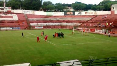 ACP vence mais uma e é líder na segundona do Paranaense - O time de Paranavaí venceu a Portuguesa Londrinense e assumiu a liderança da segunda divisão do estadual.