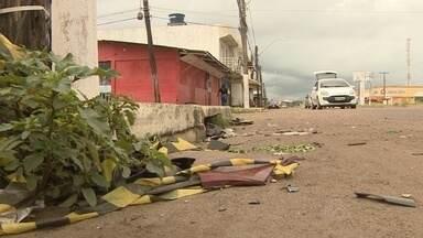 Bairro Congós registra três assassinatos no fim de semana - Fim de semana violento no bairro Congós. Foram três assassinatos. Em um dos casos, dois irmãos foram mortos e um outro está hospitalizado. E um taxista morreu atropelado.