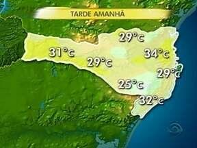 Veja a previsão do tempo para esta terça-feira (17) - Veja a previsão do tempo para esta terça-feira (17)