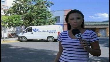 Atendimento na Receita Federal de Uruguaiana, RS é retomado após incêndio - Assista ao vídeo.