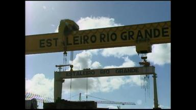 Pelo menos 2 mil serão contratadas pelo polo naval de Rio Grande, RS - Assista ao vídeo.