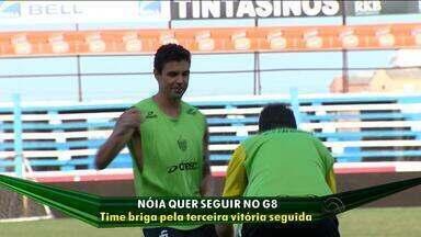 Nóia quer seguir no G8 - Com lesão no joelho, goleiro Rafael é dúvida para o confronto contra o Grêmio.
