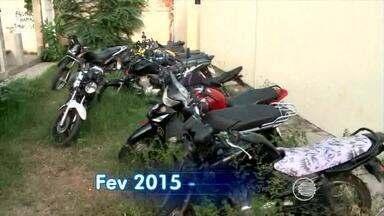 Motos são os veículos mais roubados em Teresina - Motos são os veículos mais roubados em Teresina