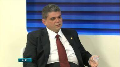 Secretário Estadual das Cidades fala sobre plano de saneamento básico para o Piauí - Secretário Estadual das Cidades fala sobre plano de saneamento básico para o Piauí