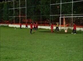 Garotada do Fla Palmas se prepara para disputar campeonato internacional, em Goiânia - Garotada do Fla Palmas se prepara para disputar campeonato internacional, em Goiânia