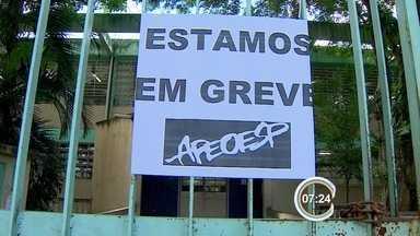 Cerca de 2 mil professores estaduais estão em greve no Vale do Paraíba - Paralisação parcial deixa estudantes sem algumas aulas.