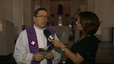 Diocese de Campina Grande vive preparativos para Domingo de Ramos - Programação faz parte das ações realizadas durante a Semana Santa.