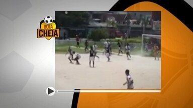 Confira o Bola Cheia e o Bola Murcha deste domingo (29) - O Bola Cheia precisa ser visto mais de uma vez para se entender o que aconteceu. O Bola Murcha perdeu um gol que estava totalmente livre.