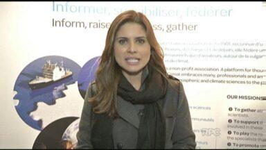 Apresentadora Claudia Celli participa de encontro sobre o clima em Paris - Encontro mundial vai discutir assuntos referentes à previsão do tempo.