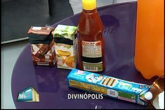 Nutricionista de Divinópolis fala sobre cuidados com excesso de açúcar - Especialistas recomendam dose diária de 25 gramas.Profissional fala sobre quantidade de açúcar em alguns alimentos.