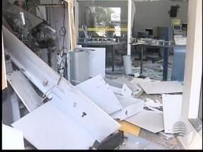 Bandidos explodem caixa eletrônico em Primavera - Bairro rural de Rosana foi alvo de bandidos.