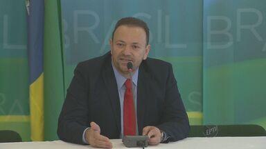 Presidente Dilma recebe novo Ministro Chefe da Comunicação, Edinho Silva - No discurso, a presidente defendeu a liberdade de imprensa e expressão.