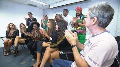 Jony Torres mostra bastidores do Altas Horas especial em homenagem ao axé - O programa reúne grandes estrelas do axé music, que está completando 30 anos.