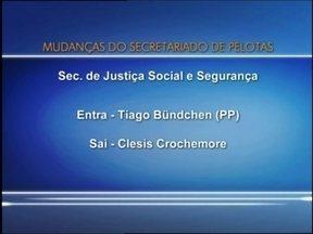 Secretarias municipais de Pelotas tem novos titulares - Oito mudanças foram feita na reforma administrativa da prefeitura.