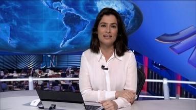 Veja no JN: março tem o maior índice de inflação para o mês, em 20 anos - O preço do pão chega a 20% em abril em algumas capitais. Câmara dos Deputados segue com debates sobre regulamentação de terceirização de contratos de trabalho. Espuma especial não consegue controlar chamas de incêndio em Santos, em SP.