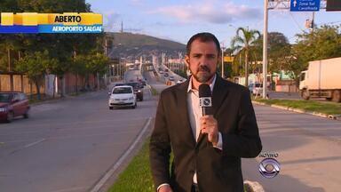 EPTC realiza testes em novo viaduto de Porto Alegre - Motoristas reclamam de trânsito lento nos horários de pico no local.