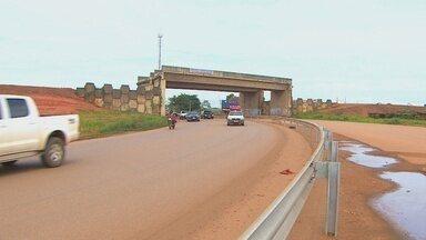 Parte das obras dos viadutos de Porto Velho está em andamento - Dnit diz que obras terminam em maio de 2016.