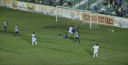 Sousa derrota o Treze por 1 a 0 e acentua a crise no Galo - Galo agora está há três jogos sem vencer.