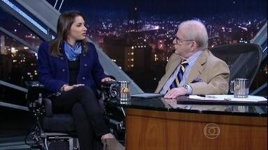 Laís Souza fala sobre o processo de recuperação do acidente que sofreu em janeiro de 2014 - Desde então, ela está passando por um tratamento experimental com células-tronco e já recuperou alguma sensibilidade nos braços e nas pernas