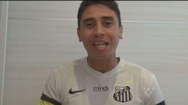 Empolgado, torcedor confia na vitória do Santos contra o XV - Higor Messias demonstrou seu amor pelo Peixe