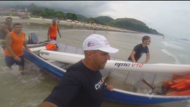 Primeira Etapa do Campeonato Brasileiro é disputada na Barra do Sahy - Torneio foi disputado no litoral norte