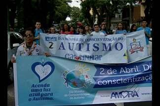 Em Belém, uma programação divulgou informações sobre o autismo - A ideia foi esclarecer a população e facilitar o acesso ao diagnóstico logo cedo.