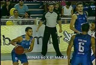 Macaé Basquete vence o Minas em partida disputada pelas oitavas de final no NBB - Equipes voltam a se enfrentar nesta quarta-feira (15).